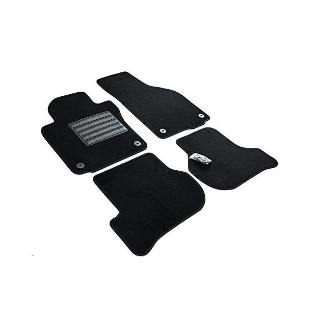 Frogum Alfombrilla de Goma 3D Inserto Flexible para el Maletero del autom/óvil 1 Pieza de Goma el/ástica Negra El tapete se Adapta Perfectamente para Peugeot 5008 II de 2017